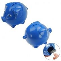 Spaarvarken - blauw