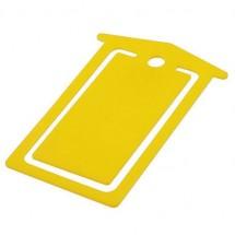 Briefclip - geel