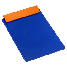 Klembord DIN A4 - blauw/oranje