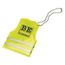 "Soft-reflektor ""Veiligheidsvest"" - geel transparant"