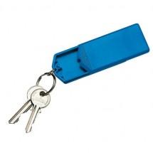 Sleutelhanger safebox - blauw
