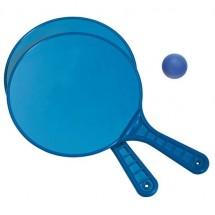 Strandtennisspel - blauw