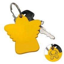 Sleutelhanger beschermengel - geel