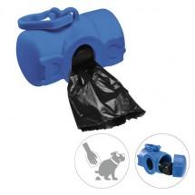 """Zakjes Dispenser """"DOG"""" - blauw"""