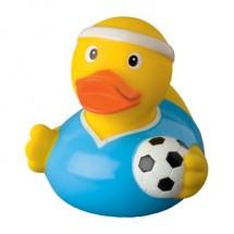 Badeend Voetballer - geel