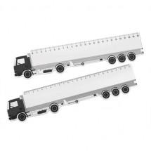 Vrachtwagen liniaal - wit