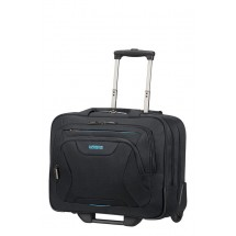 American Tourister AT Work Rolling Tote 15.6-Zwart