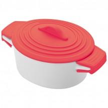 Porceleinen gourmetschaaltjes - rood