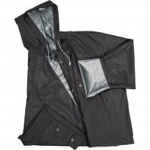 Regenjas Nantere - zwart / zilver