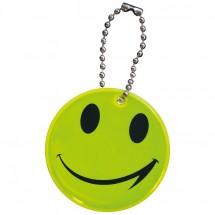 Sleutelhanger, reflecterend smile - geel