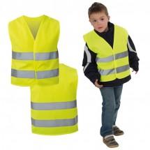 Veiligheidsvest voor kinderen, Klasse 2; EN 1150:1999 - geel