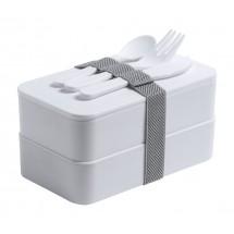antibacteriële lunchbox Fandex - wit