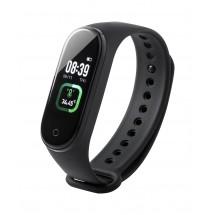 thermometer slimme horloge Droy - zwart