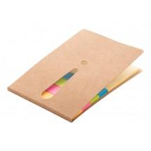 zelfklevende notitieblok  - beige
