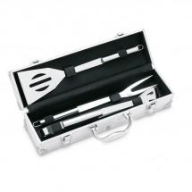 3-Delige BBQ gereedschapset ASADOR - zilver