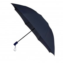 opvouwbare inside out paraplu auto open + close-blauw