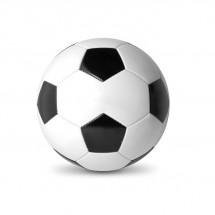 PVC voetbal SOCCER - wit/zwart