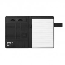 Powerbank schrijfmap A4 POWERFOLDY - black