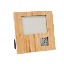 Fotolijst met weerstation ZENFRAME - hout