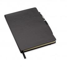 A5 notitieboekje met balpen NOTAPLUS - zwart