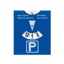 Parkeerkaart van PVC PARKCARD - blauw