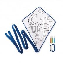 Vlieger met viltstiften TARIFA - blauw
