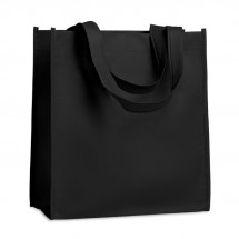 Non-woven boodschappentas APO BAG - zwart