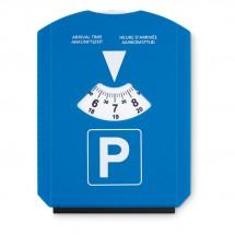 Parkeerkaart met ijskrabber PARK &  SCRAP - blauw