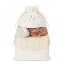 Badset in katoenen pouch CUIDA SET - beige