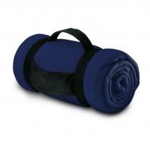 Fleece deken STAVENGER - blauw