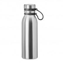 Dubbelwandige drinkfles 600ML ICELAND LUX - zilver mat