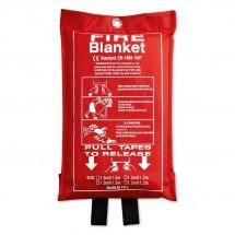 Blusdeken van glasvezel BLAKE - rood