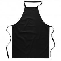 Katoenen keukenschort KITAB - zwart