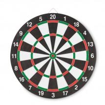 Dubbelzijdig dartbord NAIL IT - kleurrijk