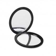 Dubbele spiegel (rond) STUNNING - zwart
