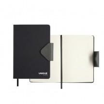 SENATOR notitieboekje Structure, MAGNET notitieboekje - zwart
