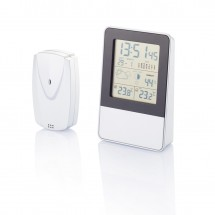 Indoor/outdoor weerstation, zilver