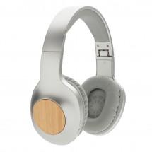 Dakota bamboe draadloze hoofdtelefoon, grijs - grijs/grijs