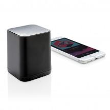 Light up logo draadloze 3W speaker - zwart