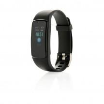 Stay Fit activity tracker met hartslagmeter - zwart