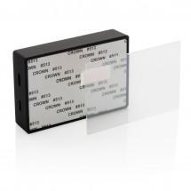 Tempered glass 3W draadloze speaker, zwart - zwart