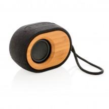 Bamboo X 5W speaker - zwart/bruin