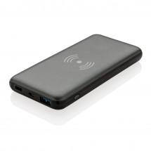 10.000 mAh snelladen 10W draadloze powerbank met PD, grijs - grijs