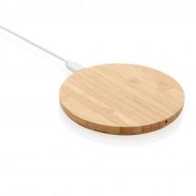 Bamboe 5W draadloze oplader - bruin