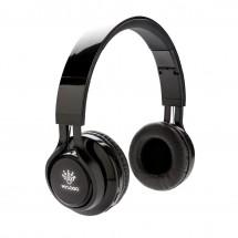 Light up logo draadloze hoofdtelefoon - zwart