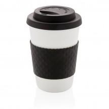 Herbruikbare koffiebeker 270ml - zwart