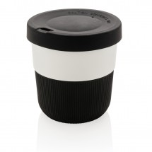 PLA cup coffee to go 280ml, zwart - zwart
