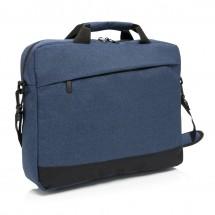 """Basic 15"""" laptop tas, blauw"""