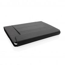 Fiko 2-in 1 laptophoes en werkstation - zwart