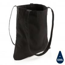 Impact AWARE™ Recycled katoenen draagtas - zwart